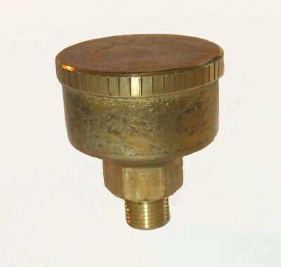 """Brass screw down grease cup 1/8""""bsp x  33mm dia                 274802"""