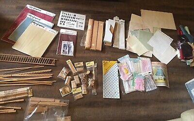 Vintage Hofco & Miscellaneous Brand Dollhouse Building Supplies & Accessories