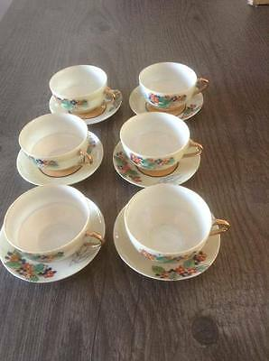 Vintage Miniature Japanese Porcelain Tea Set
