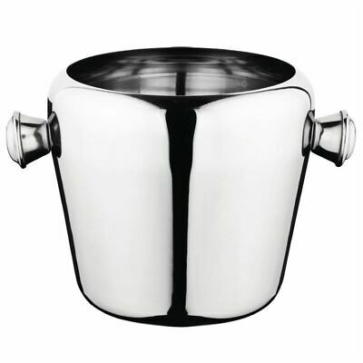 Olympia Mini Ice Bucket Stainless Steel 1Ltr [CM863]