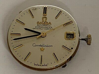 Vintage Omega Automatic Chronometer Constellation Wrist Watch Movement Cal 265