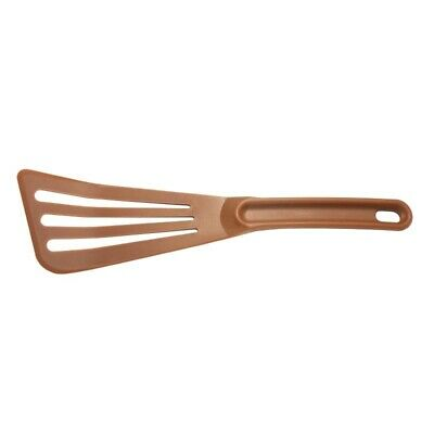 "Mercer Culinary Hells Tools Slotted Spatula Brown 12"" [CW538]"