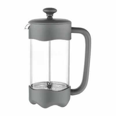 Olympia Contemporary Cafetiere Grey 8 Cup [CW959]