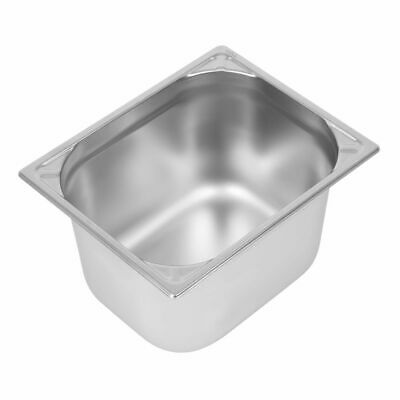 Vogue Heavy Duty Stainless Steel 1/2 Gastronorm Pan 200mm [DW441]