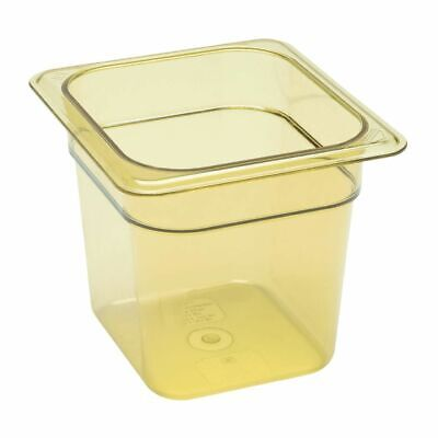 Cambro High Heat 1/6 Gastronorm Food Pan 150mm [DW494]