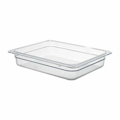 Cambro Polycarbonate 1/2 Gastronorm Pan 65mm [DM730]