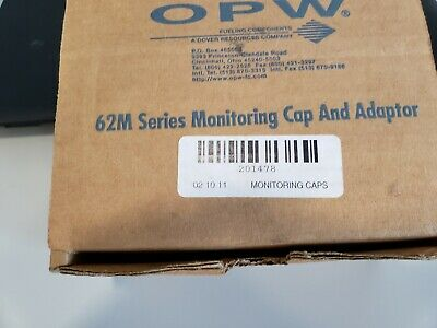 """OPW 62M  4"""" Tank Monitor Cap And Adapter New"""