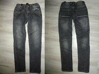TOP! SLIM BOYFRIEND JEANS Gr 146 CHAPTER YOUNG HOSE lässiger Schritt