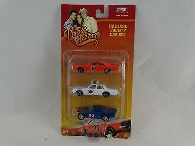 1:64 Ertl #7068 The Dukes of Hazzard Dodge Charger-Ford Mustang-Pontiac Neu/OVP