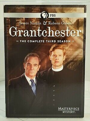 PBS Masterpiece Mystery: Grantchester: Season 3 (DVD, 2017, 3-Disc Set)