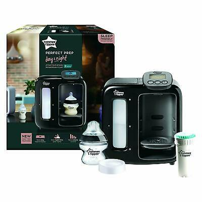 Tommee Tippee Closer to Nature Perfect Prep Machine Day and Night Black Easy Use
