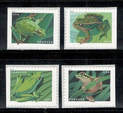 5395-5398 Frogs US Postage Set Of 4 Mint/nh Free Shipping (A-199)