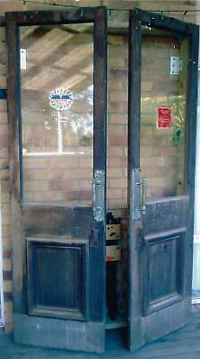 Old Timber and Glass Doors