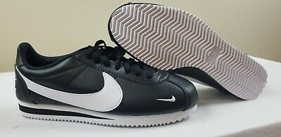 Nike Classic Cortez PREM Premium Black White Mens Retro Running Shoes 807480-004 Men Fitness, Running & Yoga