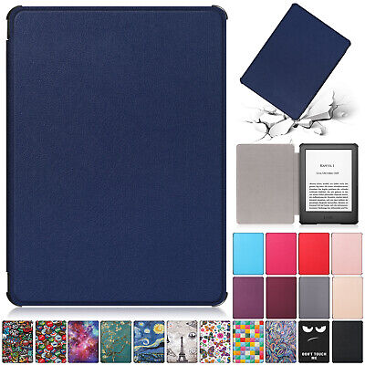 "For New Amazon Kindle 2019 10th 6"" Inch Case Smart Flip Leather Back Slim Cover"