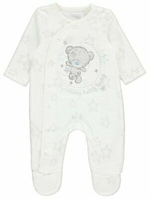 Tatty Teddy Fleece Sleepsuit. Age 6-9 Months.