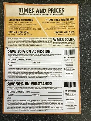 West Midlands Safari Park & Theme Park Voucher Save £££££