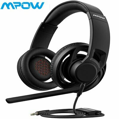 Mpow 3.5mm Wired Gaming Headset Headphones Surround Mic for PS4 PC Mac Laptop AU