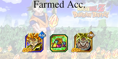 Dokkan Battle🌟iOS🌟Broly + Gogeta + 1 LR + 5300 DS🌟Farm Account - Global