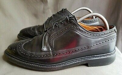 05712f118160b $980 GUCCI MEN'S Black Cordovan Lux Leather Shoes w/Buckle 8/US 8.5 ...