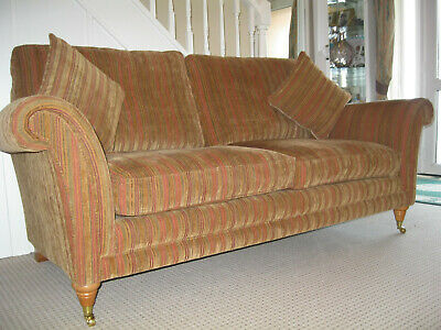 Parker Knoll Burghley Large 2 Seater Fabric Sofa.RRP £1800