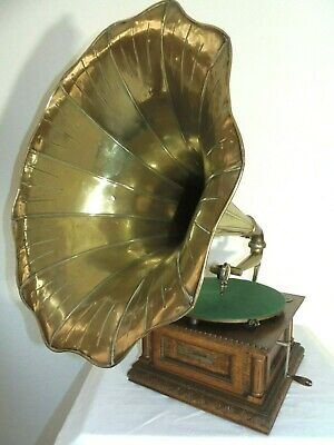 RAR - Grammophon Gramophone Monarch His Masters Voice G&T HMV um 1905