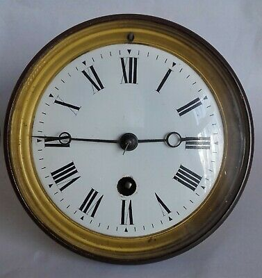 Old French Clock Movement