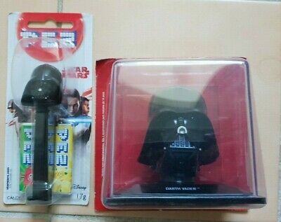 NEW Star Wars PEZ DISPENSER Darth Vader DISNEY + Darth Vader helment