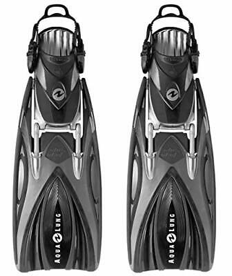 Aqualung Slingshot in Black Scuba Diving Fins  NEW Were £99 Clearance Size Small