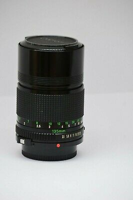 Canon 135mm  lens FD 135 mm 1:35 made in Japan   190921