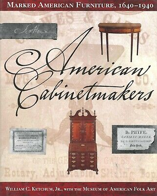 American Antique Furniture (1640-1940) - Makers Marks  / Scarce In-Depth Book