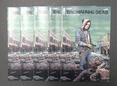 The Walking Dead #192 set of 5 - Rick Grimes Kirkman Adlard Image comics 2019