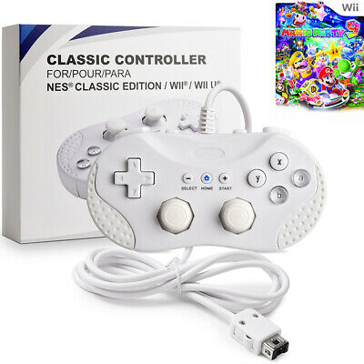 For Super SNES, NES Classic Edition Wii Wii U Wired Game Classic Pro Controller