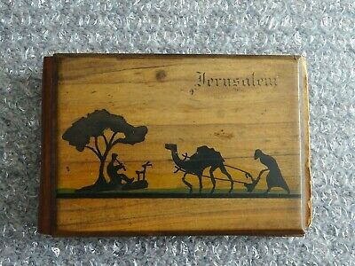 Flowers and Viewes of the Holy Land - Souvenir 1917 Jerusalem / Olive Wood