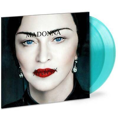 MADONNA MADAME X Exclusive USA 2-LP BLUE VINYL gatefold sleeve only 1000 pressed