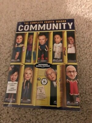 Community: The Complete Fourth Season (DVD, 2013, 2-Disc Set) NEW SEALED