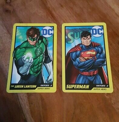 DC comics coin pusher cards series 2