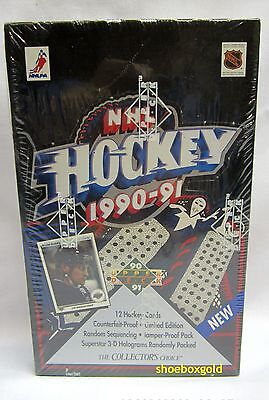 1990-91 UPPER DECK Series 1 LOW NHL Hockey Factory-Sealed BOX – ROOKIES!
