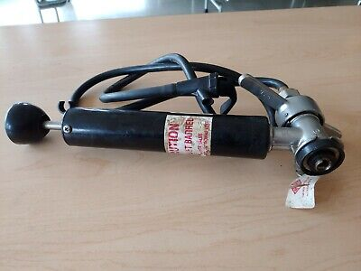 tap rite keg pump anheuser busch products vintage used