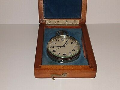 Russian marine deck watch chronometer Polet WORKING CONDITION