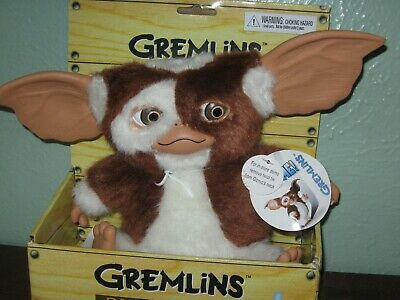 NECA Dancing Singing Gizmo Plush Doll 2011 Gremlins New in Box