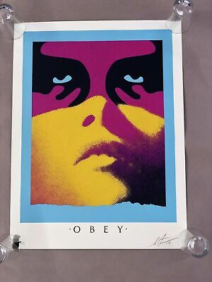 "Shepard Fairey "" SHADOWPLAY "" (Paris Version) Print - OBEY Edition of 500 Signed"