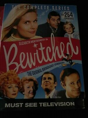 BRAND NEW I Dream of Jeannie AND Bewitched Complete Series Boxsets