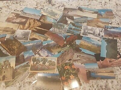 50+ 1950 to 1970s Vintage Postcards 1950s to 1970s unused NOS Esrate Sale Find