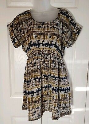 Ally Baby Doll Top Dress Size Medium