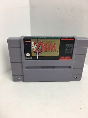 The Legend of Zelda: A Link to the Past - Super Nintendo SNES - TESTED