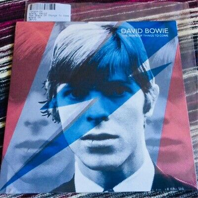 """David Bowie - The Shape of Things to Come 7"""" single BLUE vinyl *NEW"""