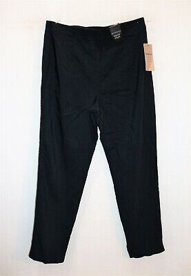 EXPRESSION Brand Navy Classic Fit Bengaline Pants Size 14 BNWT #SV91