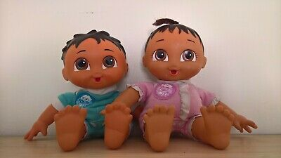 Dora The Explorer Twin Brother And Sister Dolls Super Babies Set Of 2