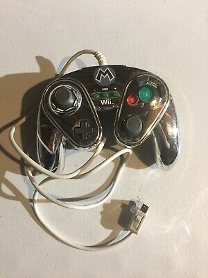 PDP Wired Fight Pad for Nintendo Wii U - Metal Mario (085-006)™